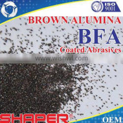 Abrasive and refractory BFA