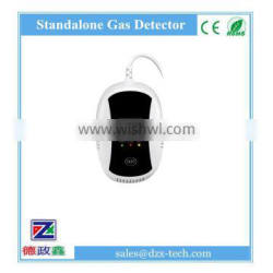 Wireless gas detector with shut off valve, CE approved