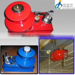 Hot sale poultry feeding line use hand capstan winch