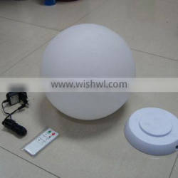 2016 Water Floating Colorful Flashing Led Ball For Promotion