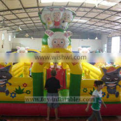 Qualified special giant inflatable amusement park