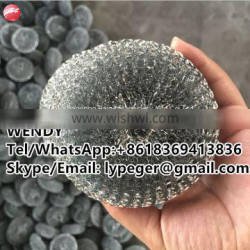 High zinc coated mesh knitted scourer/dish scourer/cleaning ball