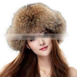 Genuine Fox Fur Russian Ushanka Hat