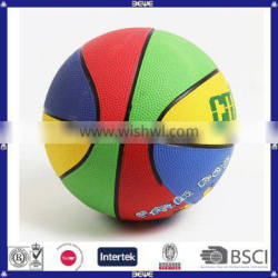 Cheap Colorful OEM Customized Basketball for Promotion Factory Directly Sale