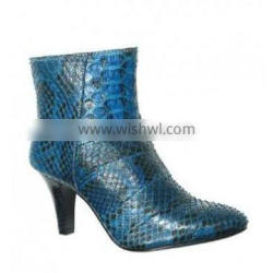 Python leather boots SWPS-007