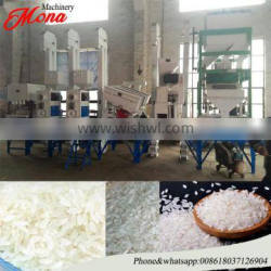 Hot selling all in one set 20t rice mill price/ large capacity satake rice milling machine