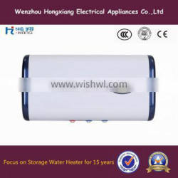 Home appliance storage electric water heater with double tank