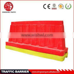 newest Sand filled or water filled traffic barriers