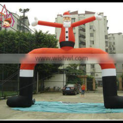 inflatable christmas archway christmas decoration arch christmas events gate/door arch
