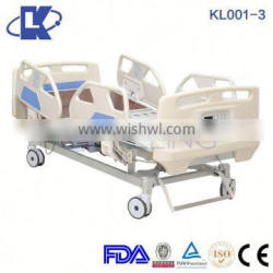 KL001-3 X-ray Available Electric ICU Room Hospital Bed,Five functions ICU electric bed with X-ray function for sale