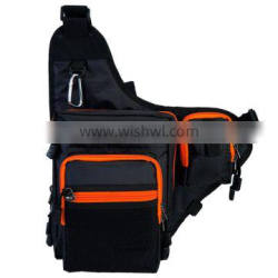 Outdoor Sports Shoulder Crossbody Fishing Tackle Bag
