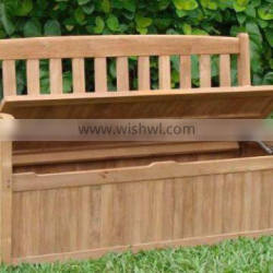 TOP SELLING - Outdoor furniture design - Storage Bench - FSC hardwood - Beautiful Finish - Good Price - made in vietnam