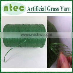 8000Dtex synthetic grass yarn/thread fibrillated type for leisure