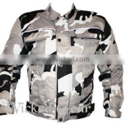 Motorcycle Camofledge Cordura Jacket