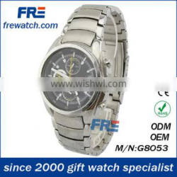 2014 fashion men watches all stainless steel watch
