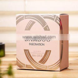 Fashional Printing Cosmetic Lamination Paper Box With Sliver/Golden Hot Stamping