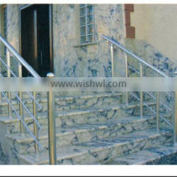 aluminum porch stair balustrades /removable hall railing/stair handrail outdoor
