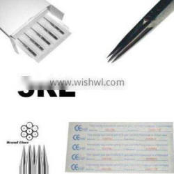 High Quality 316L surgical steel made Liner tattoo 3R needles for professional only