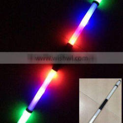 light up plastic karate stick with 6 leds for party & events club