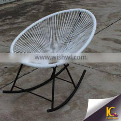 Outdoor furniture colorful PE rattan single chair modern reclining chair for promotional Quality Choice