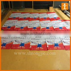 Advertising mini fabric polyester bunting flags banner