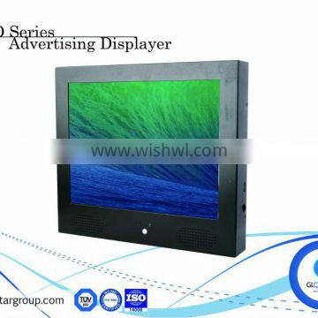 Retail store advertising 15 inch touch screen usb tft lcd
