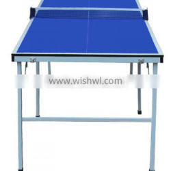 2016 Brand New low price high quality multifunction indoor tennis table foldable design