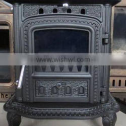 4.5KW Wood Stoves Type and Cast Iron Material wood burning stove