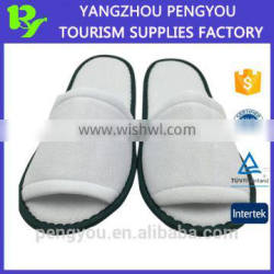 for sale open toe hotel bathroom slippers with cheap price