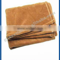 High Quality Brown Coral Fleece Blanket