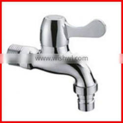 Bathroom accessories faucets make in China brass wall mounted laundry taps T9202