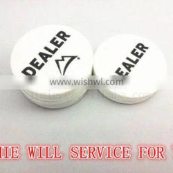 custom poker dealer button