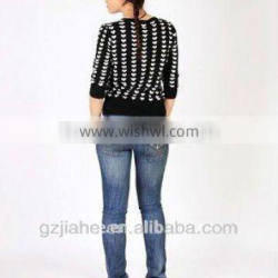 2012 hot selling newest fashion women knitted wear