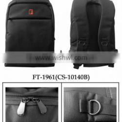High quality hot sale items Promotional special laptop Men business Backpack Black color polyester