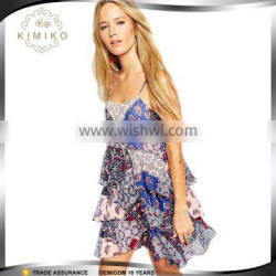 High Quality Sexy Summer Boho Swing Dress For Women OEM Manufacture
