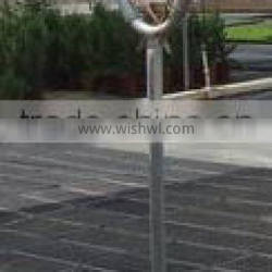 Greenhouse Structure Pole Ancher stake in horn shape