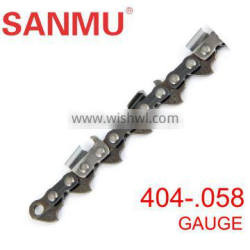 """Garden tool .404"""" 058 saw chain for pole chainsaws"""