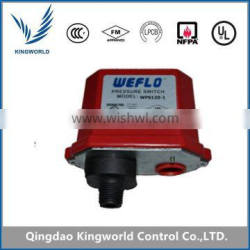 China FM UL Pressure Type Waterflow Switch