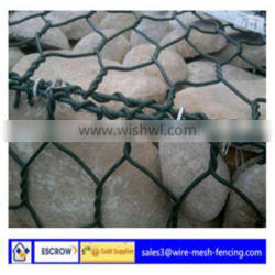 (ISO9001 :2008 )2015 hot sale Alibaba China high quality and low price hot dip galvanizing gabion mesh with best price