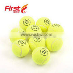 best sale bulk custom wool and imported rubber tennis balls