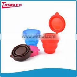 silicone collapsible travel cup,silicone collapsible cup/collapsible silicone folding cup