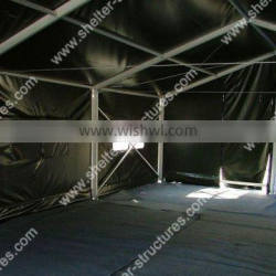 Green color aluminum army big tent for sale army