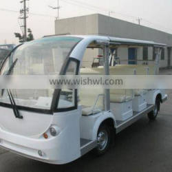 electric eleven seats shuttle bus, CE approved