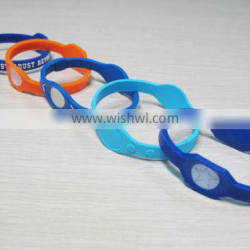 NFC Ultralight RFID Silicone Bracelets for Public Event