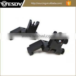 Hot Sale Tactical Front and Rear Flip up 45 Degree Iron Sight ar15 parts