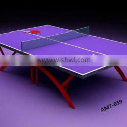 Modern design indoor table Folded portable tennis table Function ping pong table