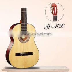 Laminated cedar top mahogany neck best sell modern different color classic guitar