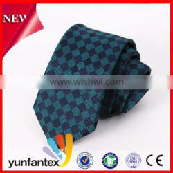 2016 handmade soild color and plaid 100 polyester tie