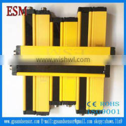 Photoelectric safety protect, protection height:230mm, optical axis count:24, detection distance: 0.3-3meter, axis spacing: 10mm