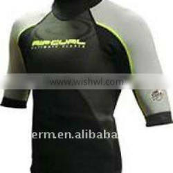 3.0mm short sleeve surfing wetsuit